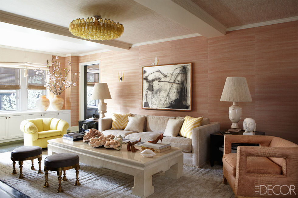 A Kelly Wearstler designed space.  Enough said.  {Via Elle Decor}