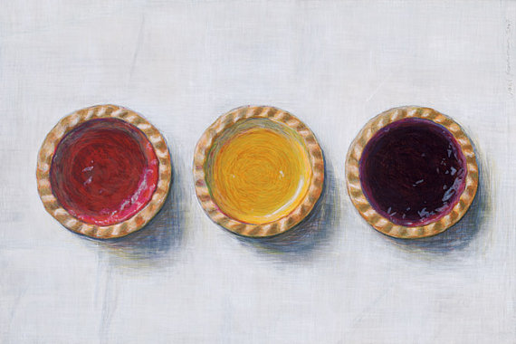 Jam Tarts , Limited Edition Giclee Print