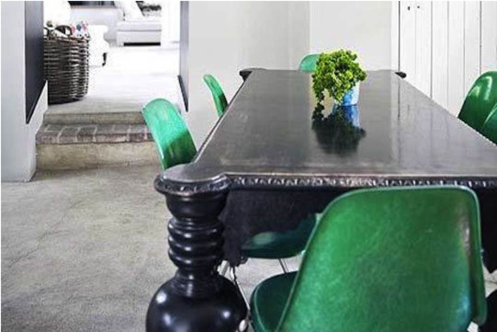 Just a touch of Jade is enough with these fantastic Herman Miller chairs.  {Via Telegraph}