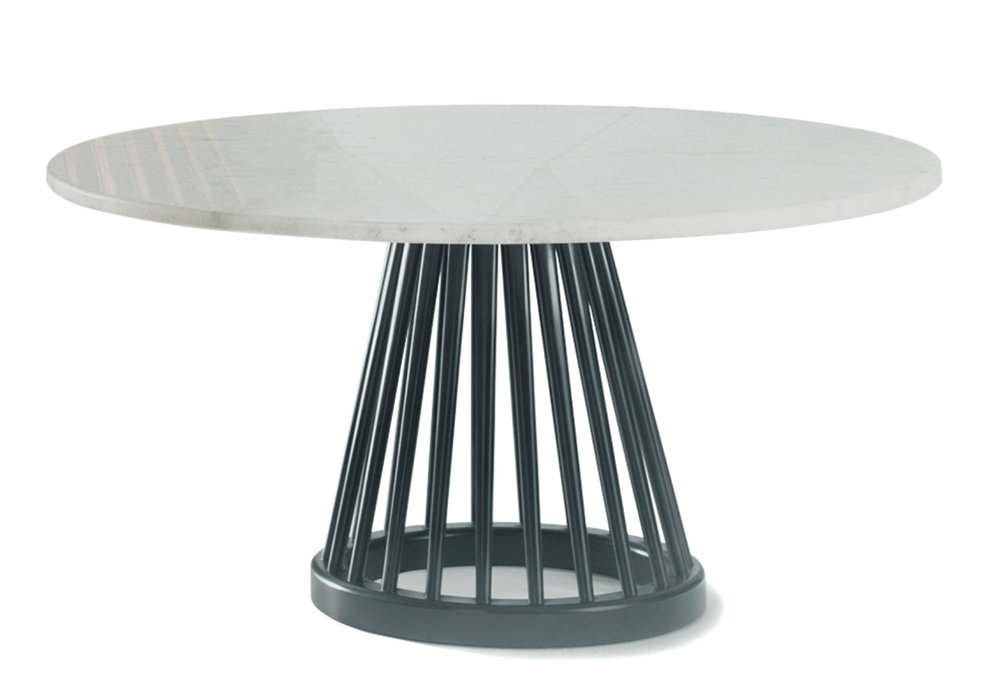 Fan Table designed by Tom Dixon {Via  Hive Modern }