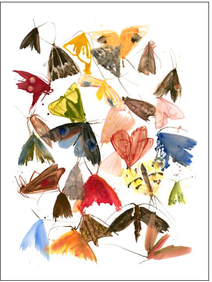 """Moths 6"", Via Allyson Reynolds"