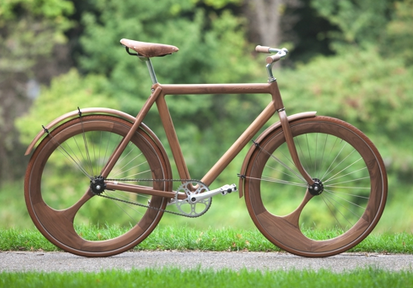 Fantastic and eye-catching design.  A mode of transportation and a work of art! {Via  Human Bike }