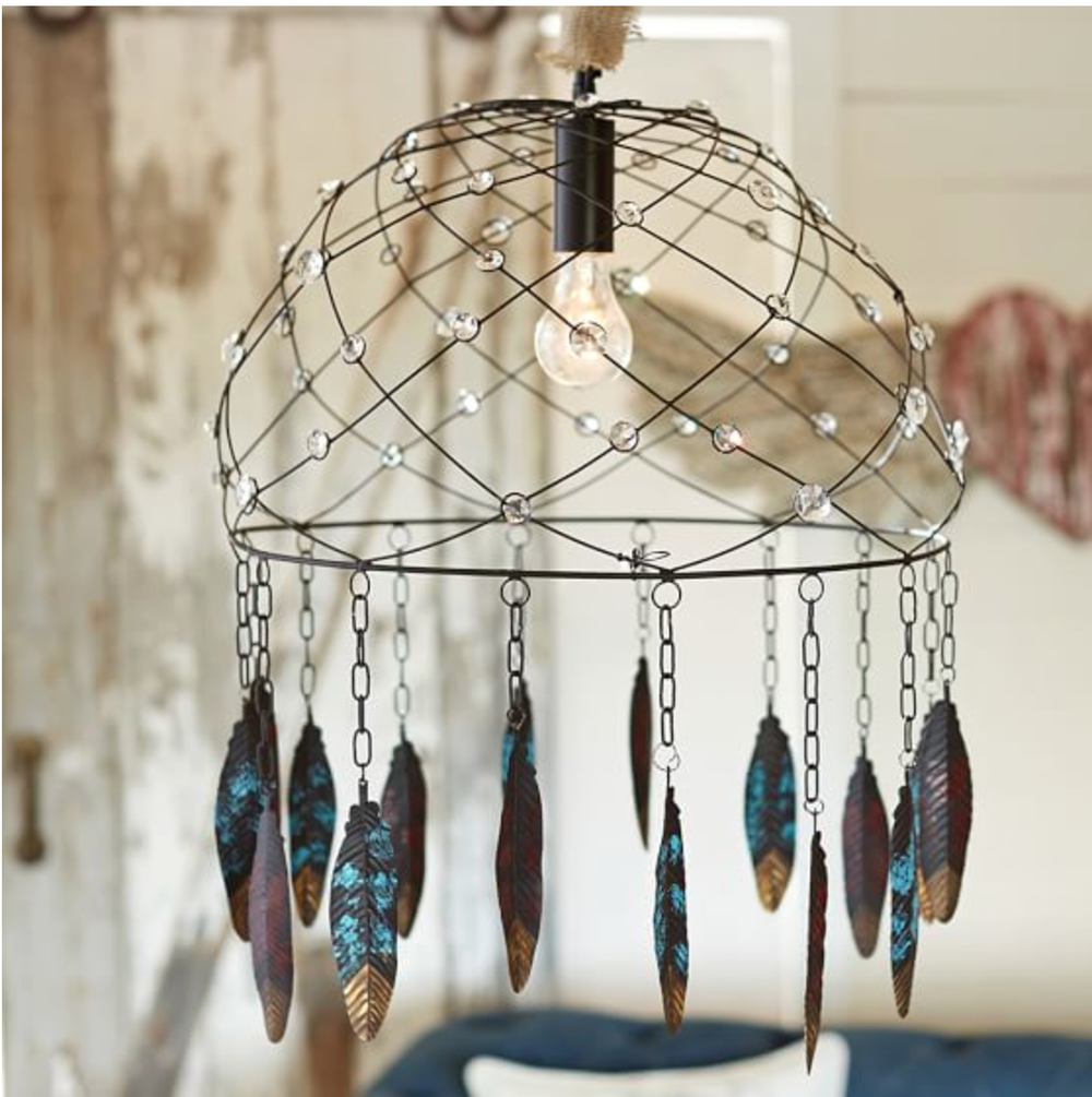 """Junk Gypsy Dream Catcher"" {Via PB Teen}"