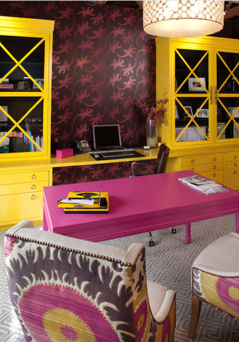 Pink! {Via Houzz}