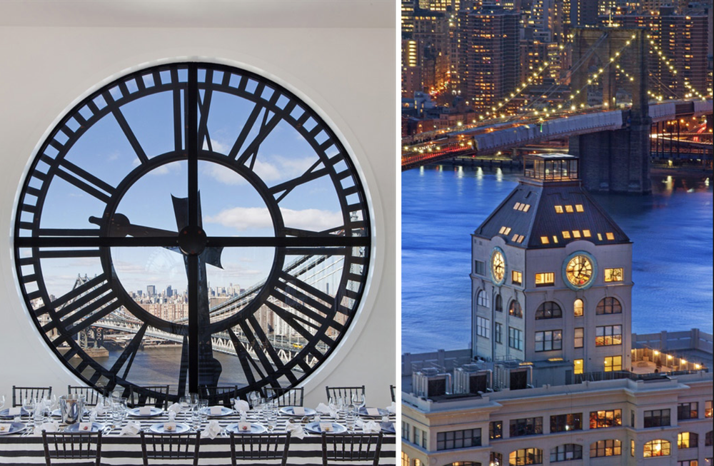 Brooklyn Clock Tower Penthouse.  Wow!  Watch more about it  here .