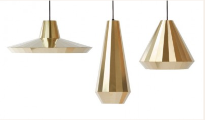 Brass Lights  by David Derksen Design