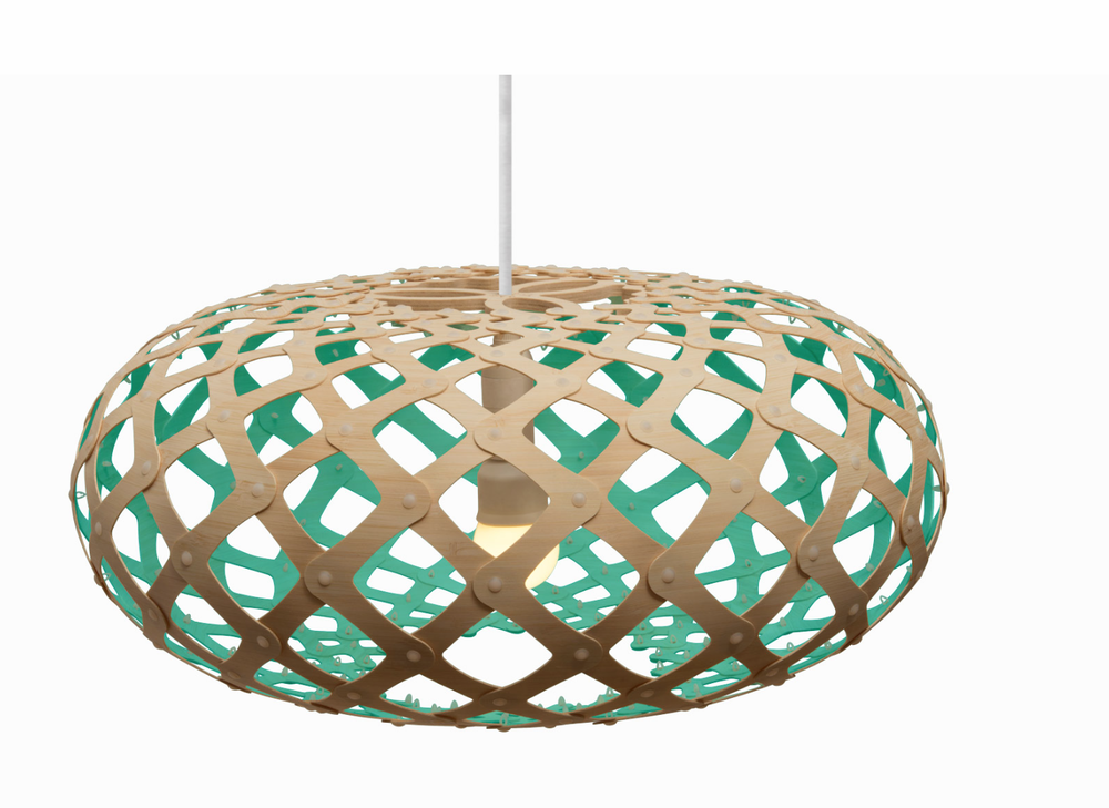 This one is fun... you can pick the color on the inside.  Love!  Kina Light  by David Trubridge
