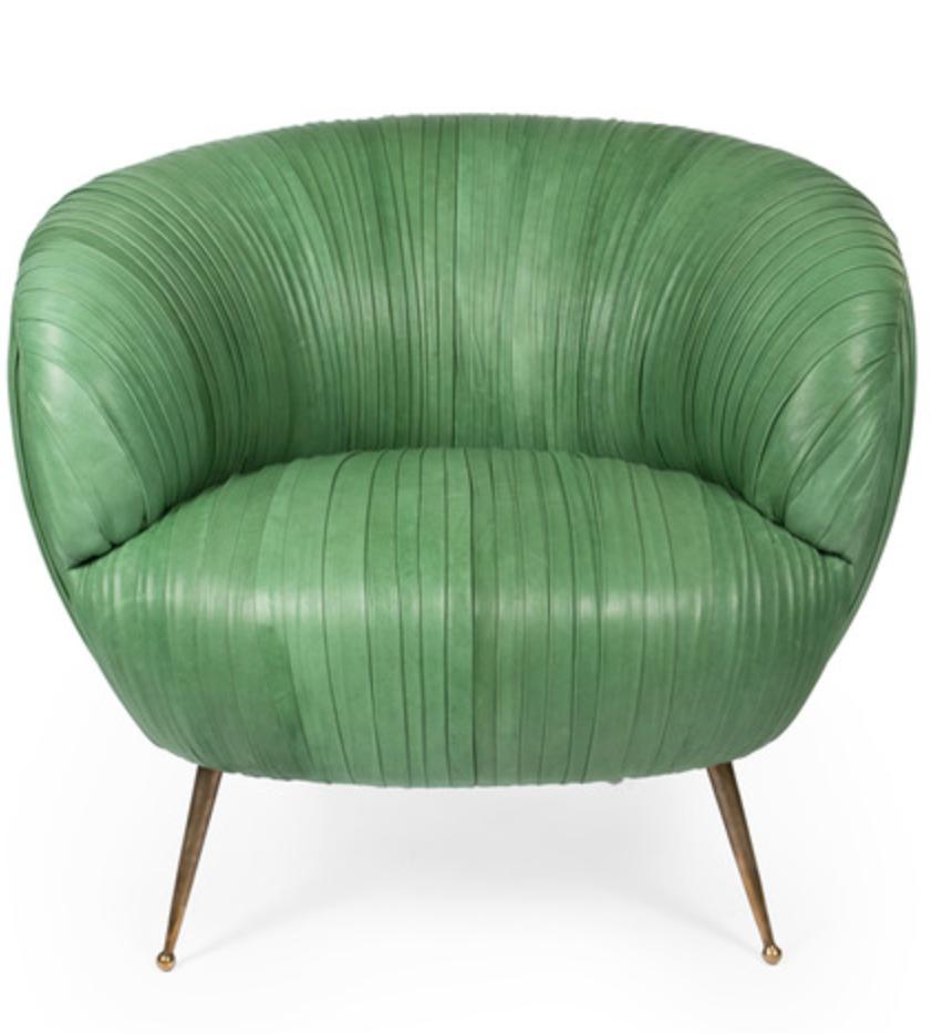 Kelly Wearstler's  soufflé chair  is too cute.