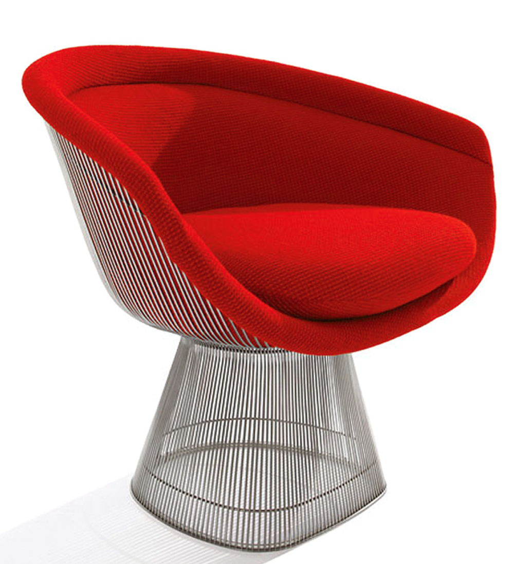 The  Platner Lounge Chair .  Classic!