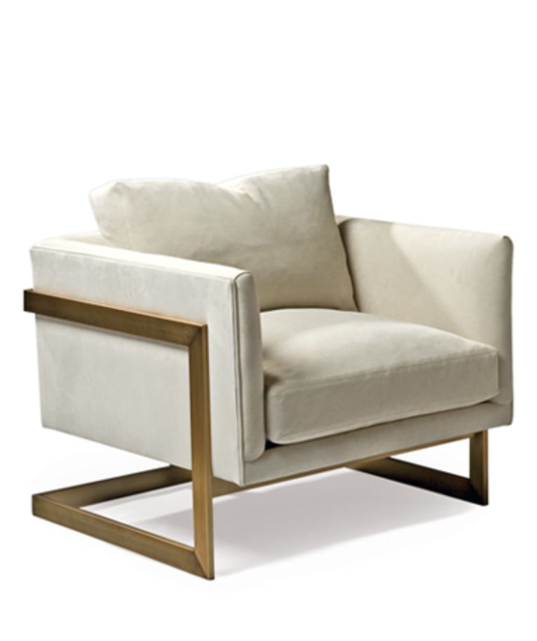 T-back lounge chair by Milo Baughman {Via  Thayer Coggin }