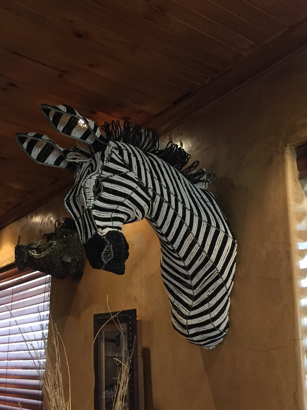I especially love this zebra!