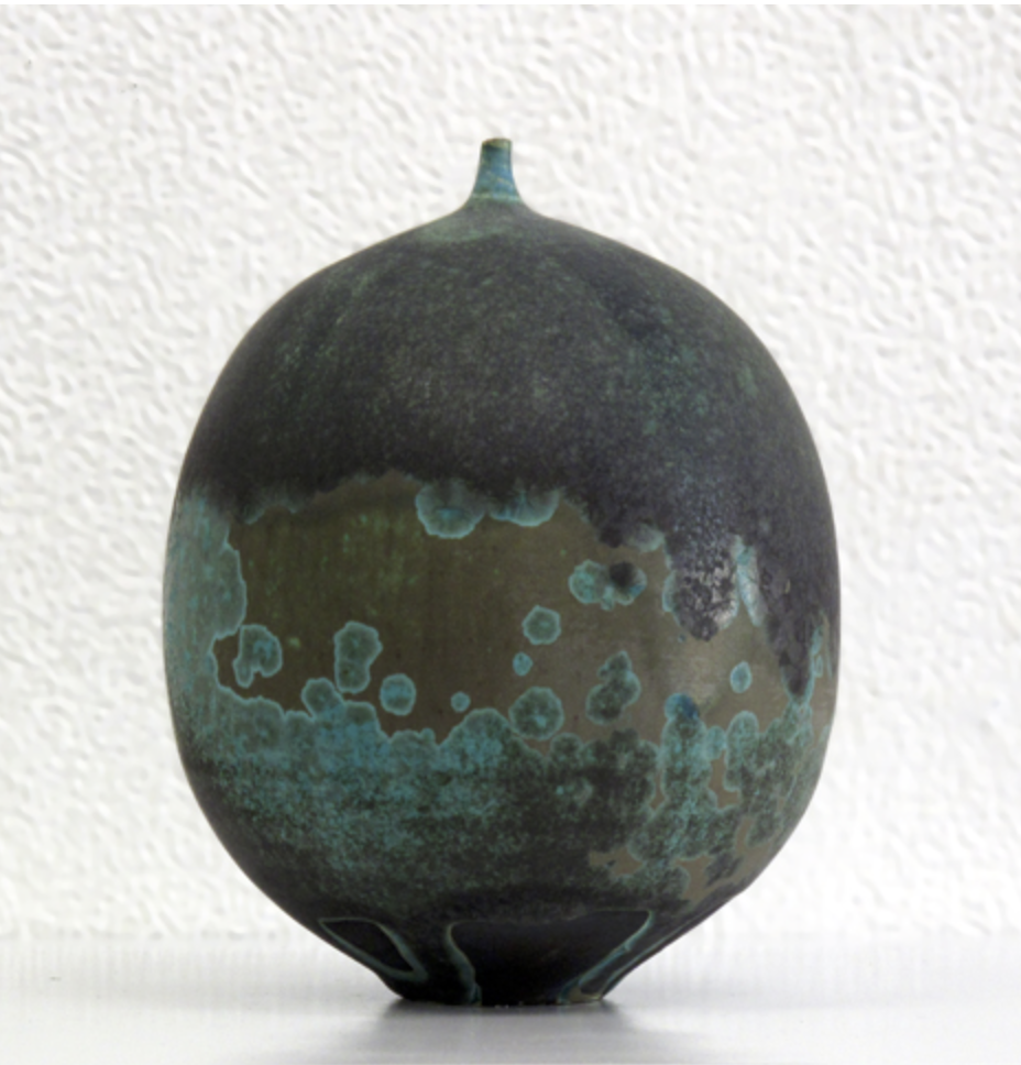 Squash?  The oxidization is lovely.  VIA Courtier Gallery