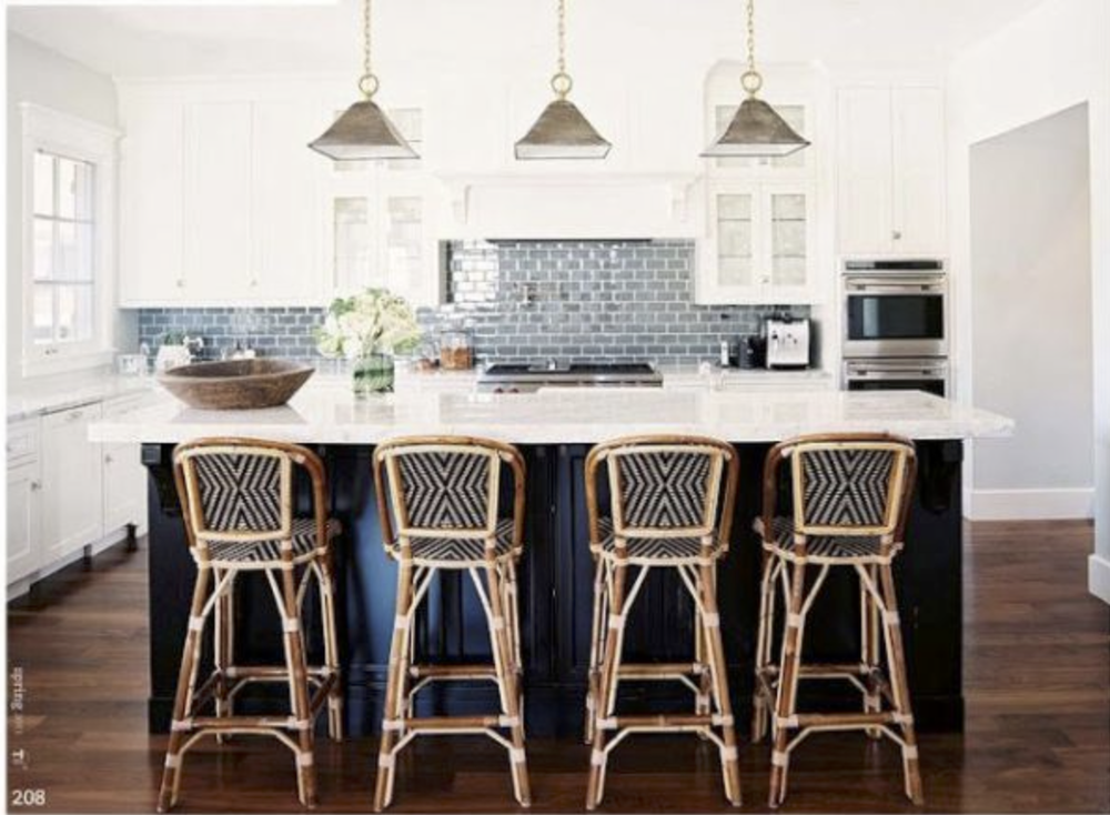 Gorgeous kitchen designed by Sasha Adler and Lauren Gold of Nate Berkus Design {Via Pinterest}
