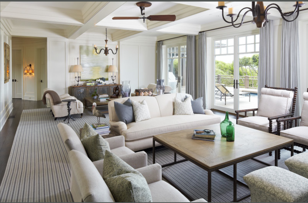 I love the feel of this space.  {Photo courtesy  Kiawah Island }