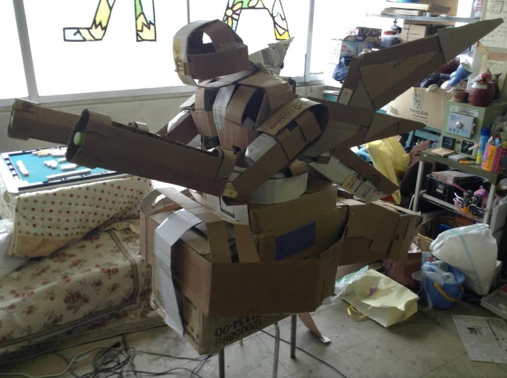Cardboard Mech mk2 (prototype)