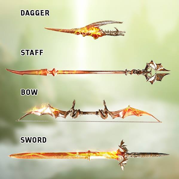 cudathedas: Dagger, Staff, Bow or Sword?