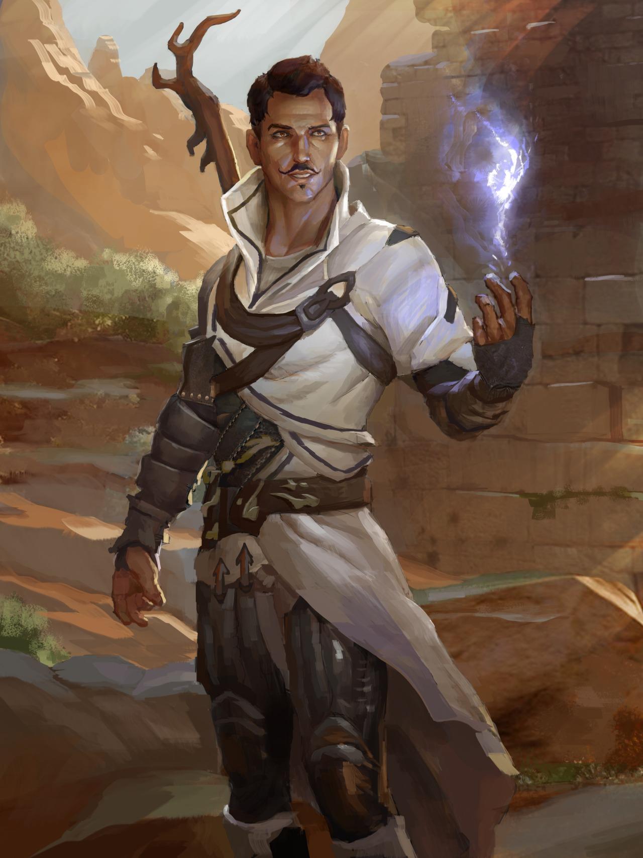 Dorian Pavus by Andrew Ryan [DeviantArt]