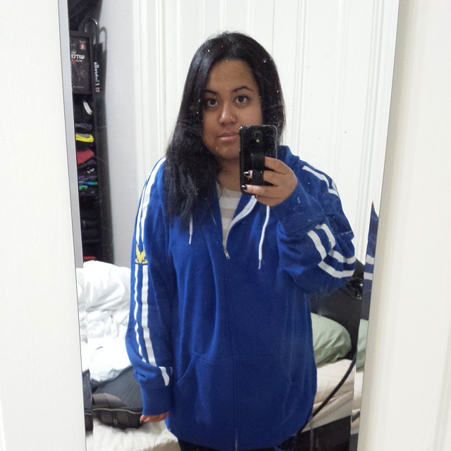 Shoot, got the Kaidan hoodie but too big >.< Exchange time.