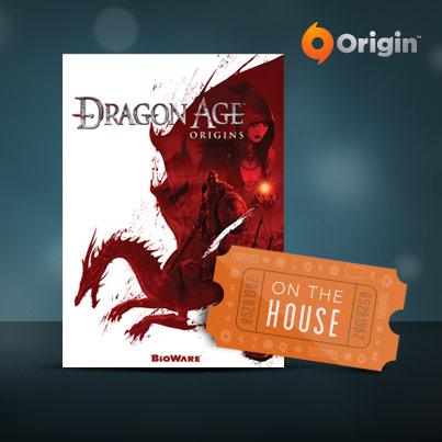 "Play Dragon Age: Origins for free  through Origin's ""On the House"" program. Download the game by hopping on Origin before October 14th and keep it forever.   More information here: [""Dragon Age: Origins is On the House"" at  DragonAge.com ]"