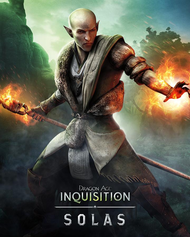"The Mind - Solas   Source:  Dragon Age  on Twitter   ""As a Fade expert, Solas brings both knowledge and skill to the Inquisition. Will you use him in your party?"""