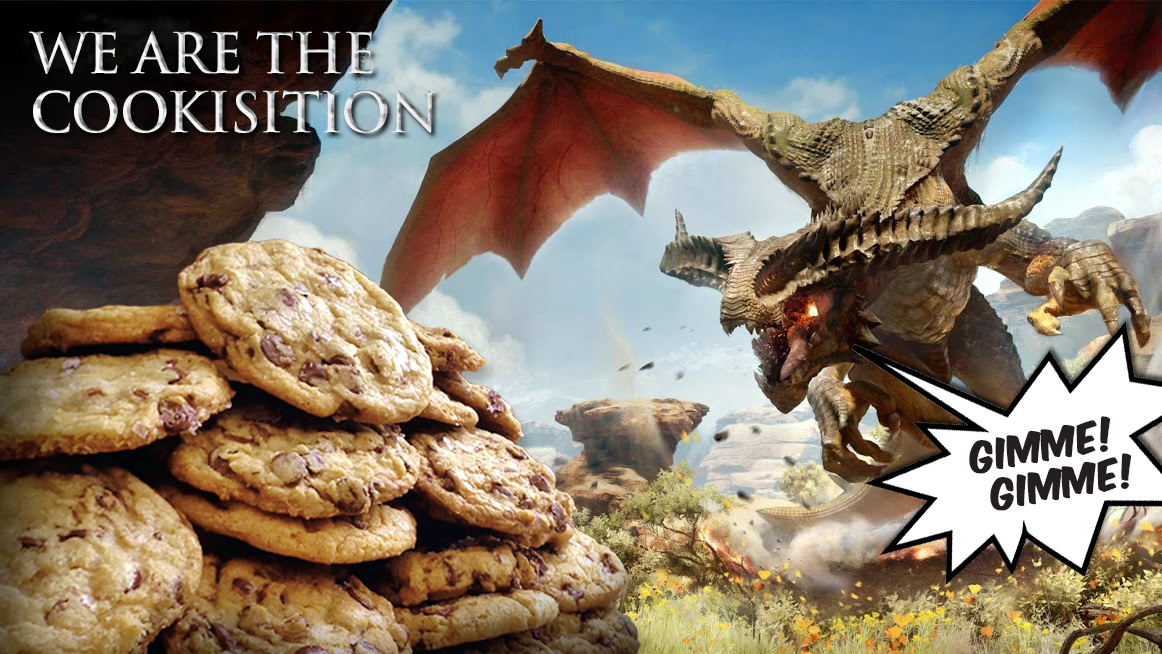 the-cookisition: ONLY 12 HOURS LEFT to submit your thank you messages, fan art and videos to the Cookisition. A gigantic bundle of Crave cookies is being delivered to BioWare, this Friday, November 7th, between 10-11am MDT (12-1pm EST / 9-10am PDT) as a token of the DA/BioWare fans appreciation for all of their hard work. Absolutely ANYONE & EVERYONE is welcome to come join the fun. Spread the word and lets send the BioWare devs some love! If tumblr isn't your thing, no worries. You can also use #Cookisition and share your love for BioWare on Twitter! PLEASE NOTE: All submissions will be reviewed. Anything containing negative/hostile remarks will not be posted. This site is about love not war, man! Submissions must be in by November 6th at Midnight EST.  There is still plenty of time left for you all to get creative and submit your personal thank you messages to the BioWare developers. SO GET TO IT! Thank you to everyone that has helped me along this journey and to everyone that has participated thus far. This could not have been done without your help. Thank you! -NerdWorthy Moderator, MissPiggy385
