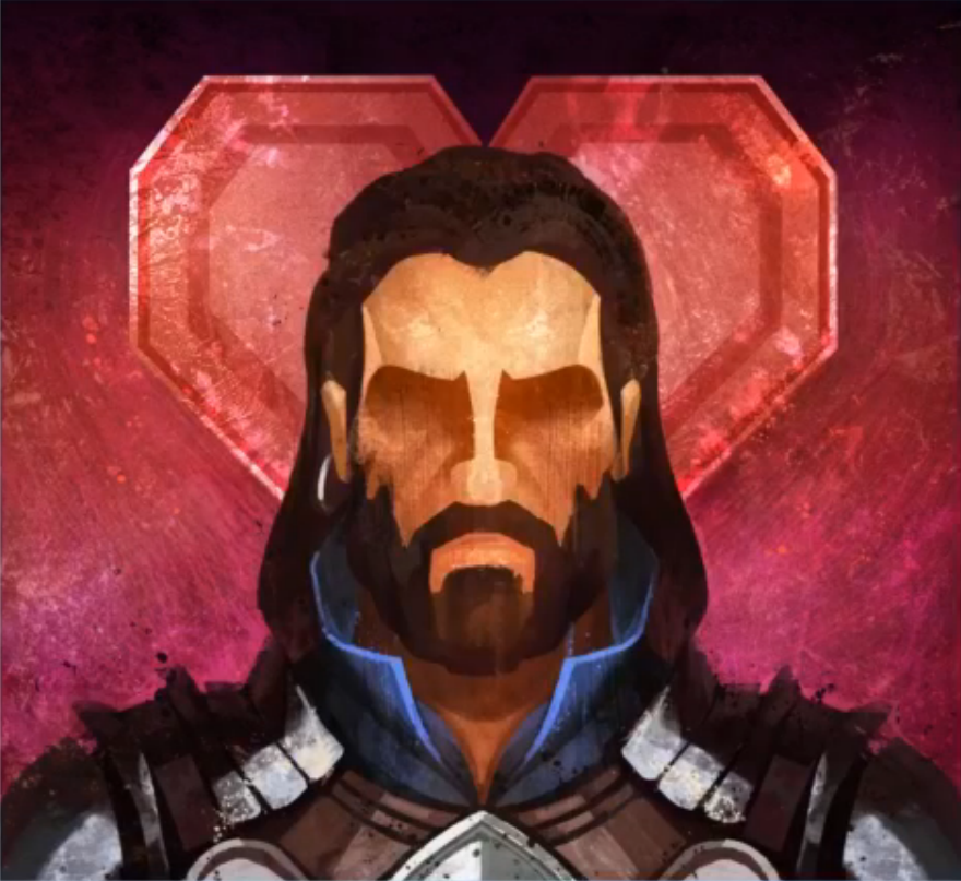 Blackwall in Dragon Age Keep, as a romance.    Source:  twitch.tv/bioware