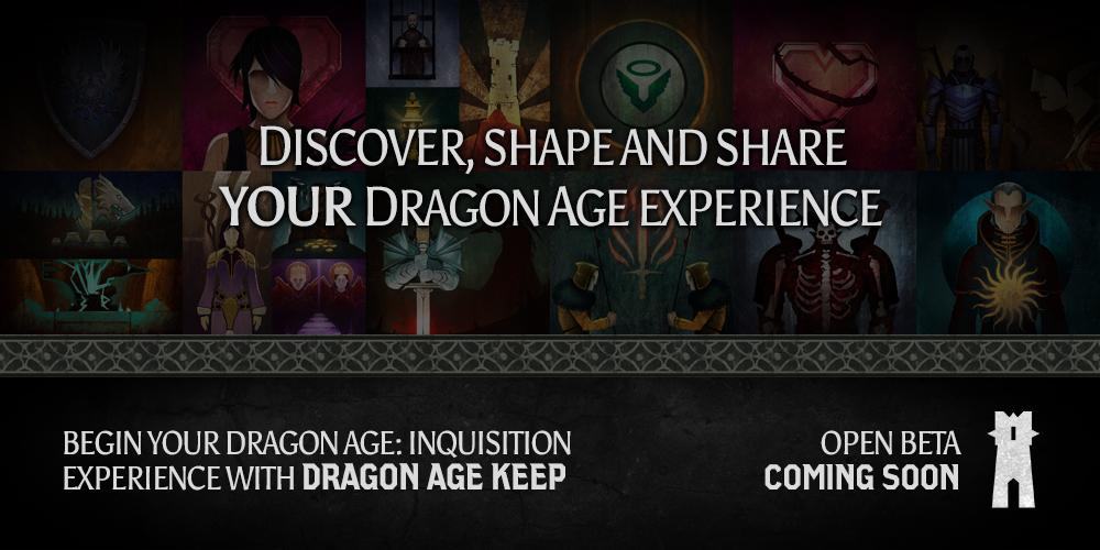 Dragon Age  on Twitter:     Join us on a journey through the series over the next few weeks and share the choices that shaped your path to #DAI.