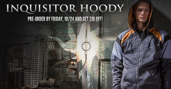 Pre-order the Inquisitor hoody and get $10 off  -  [Bioware Store]