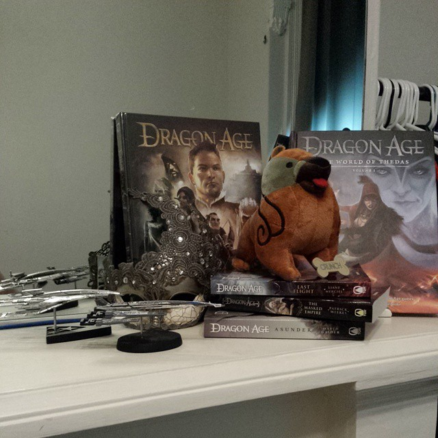 My lovely little corner of Dragon Age/Mass Effect