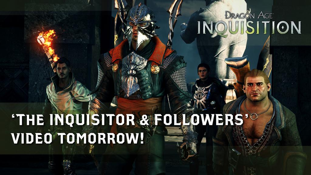 """Lead them or fall… #MyInquisition"" Source: @DragonAge on Twitter"