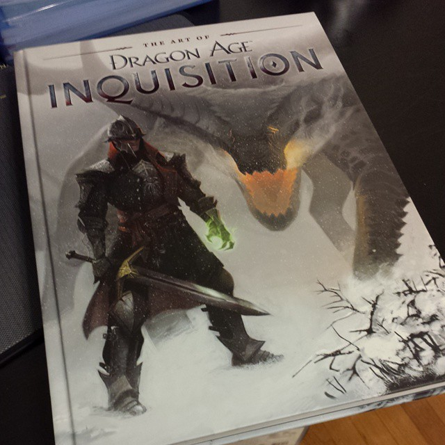 Welcome back home present, awww yus. #DragonAge