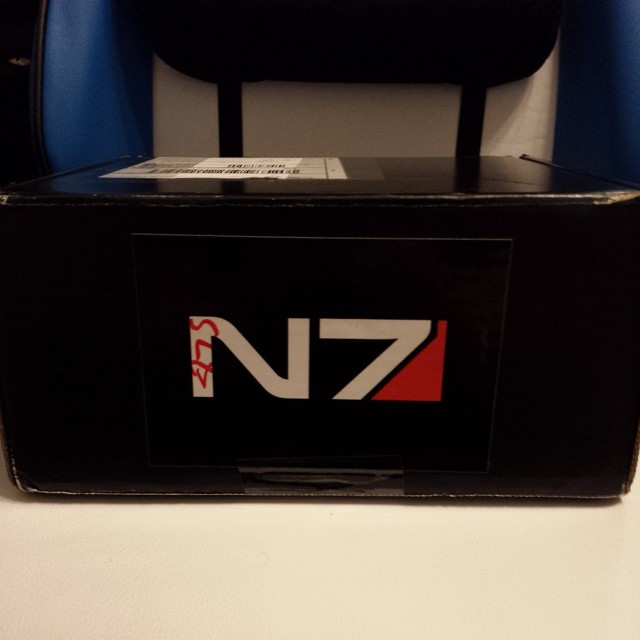 WOO, MAIL! Are you ready for N7 Day? Cause I sure as hell am! #N7Day14