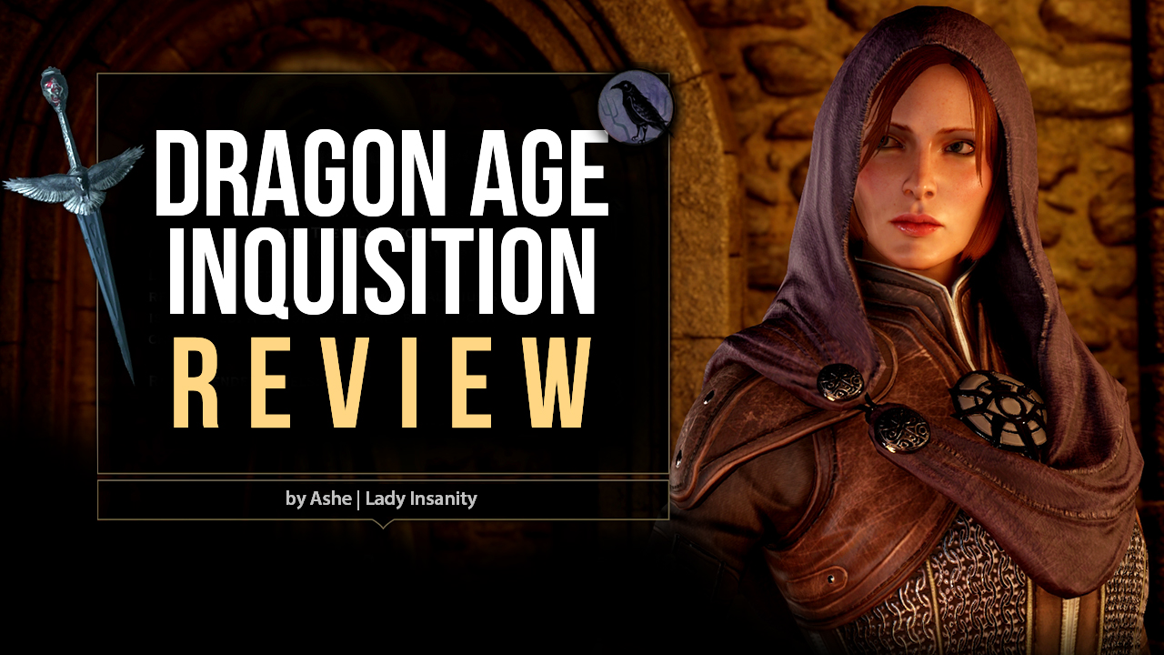 My review on Dragon Age: Inquisition is up!  SEE IT HERE:  https://www.youtube.com/watch?v=EFavsJvbUs0    Spoiler Check: First part contains mild character spoilers. Second part goes completely into the main plot and characters. Second part has a warning mid-video before it starts, in order to jump to the final thoughts.