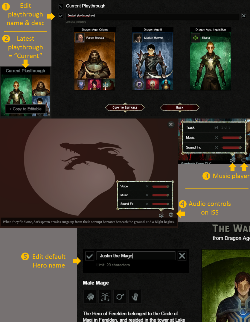 "Fernando Melo @DiscoBabaloo - ""not an artist :D but w this wk's release, 5 things live @DragonAgeKeep since launch (plus loads of other bugs/tweaks)  http://t.co/Glkoj96tVL """