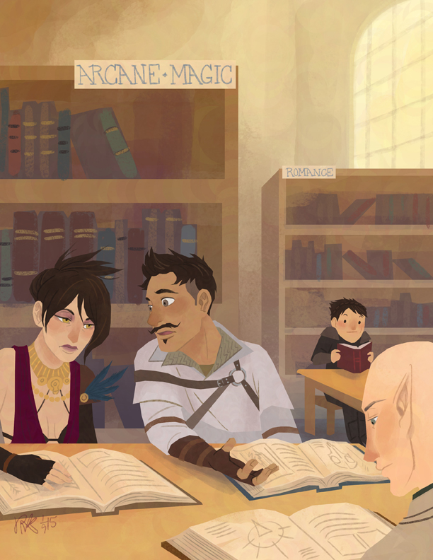 joannekwan :     look at these nerds in the library.