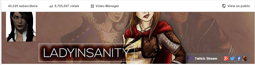 Thank you to anyone who's part of the 40K+ subscribers on my  channel .  Like Andraste's flaming ass, I'm really happy. So much <3   As far as what's to come, here's a few things:     Working on Part 2 of my EGX Breakdown  which involves the trailer that was shown during the beginning of the presentation. My recent video covered many of the  slides  on the art.    Will be full-time on Youtube  and it's pretty much scaring the sh— out of me. Some of you know I've been at IGN for a few months as their Syndication editor, but I haven't been able to manage my YT channel well because of it. I gave them my two weeks last week - kills me cause the people there are SO freaking chill and awesome. I wish the timing were better, and maybe one day I can return. But after doing Dragon Age for so long, I want to keep going and see everything through.     Collaborating with  Shoddycast  as Writer for their Dragon Age lore series.  For every episode of the Dragon Age series you see, that's me writing it! If you missed it, the Introduction went up last week and Chapter 1 should be up this Tuesday. Beyond Dragon Age, they have really intense lore guides for Elder Scrolls and Fallout. Don't even have to mention, but  highly  suggest.    More updates to come! Gotta get my bearings as I prepare for Inquisition's release. Less than two months!