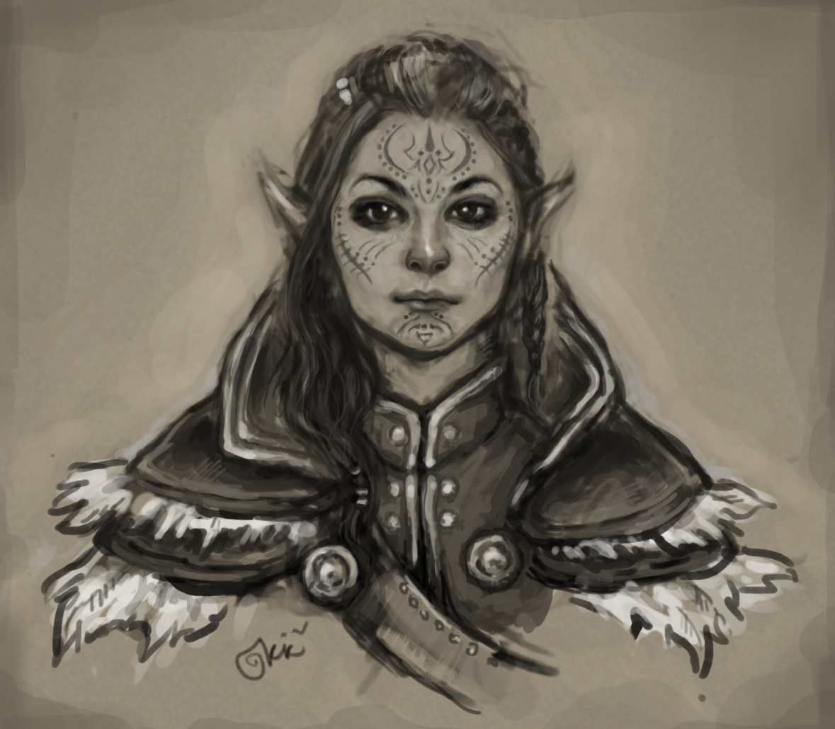 kistehvost :     My great and terrible inquisitor Lavellan!