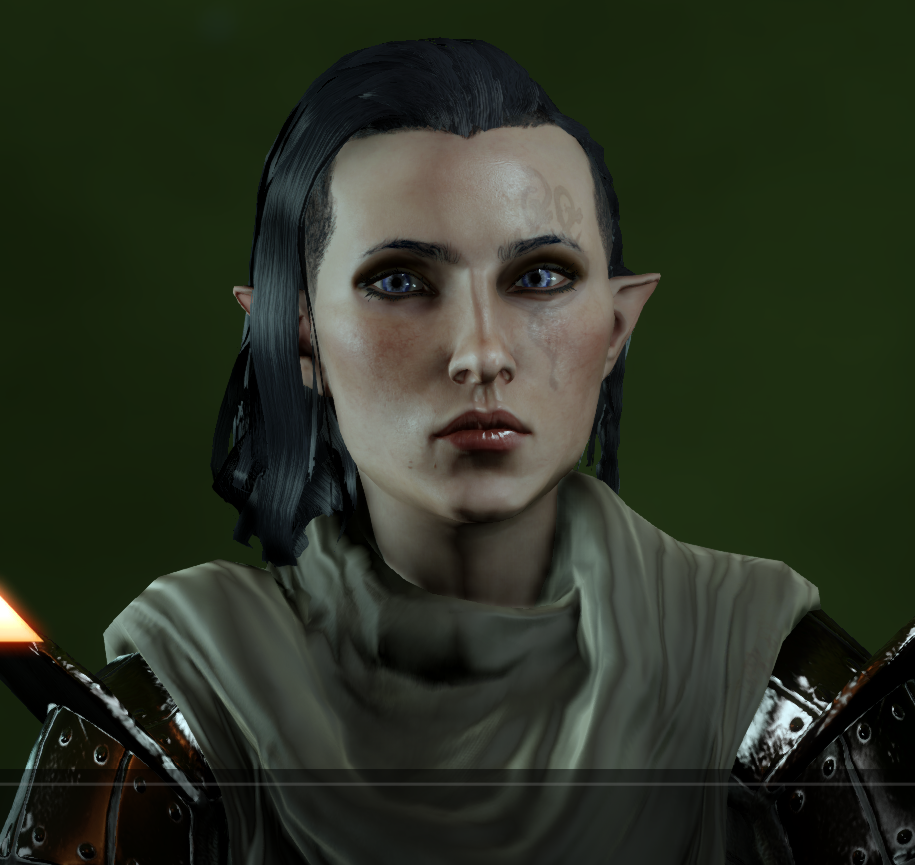 Tried to make the Elven version of Cyndarra (my human fem IQ). Think I achieved it! Say hello to Esdese.