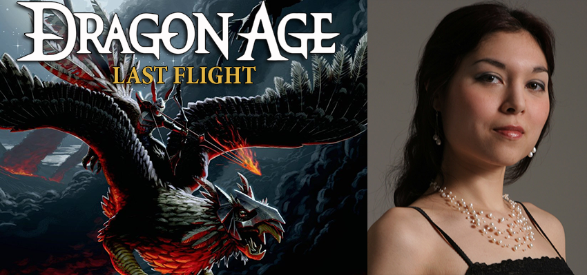 cudathedas: Interview with Liane Merciel - Dragon Age: Last Flight http://www.dragon-age.pl/news/56-dragon-age-powiesci/1835-wywiad-z-liane-marciel-autorka-powiesci-dragon-age-last-flight.html