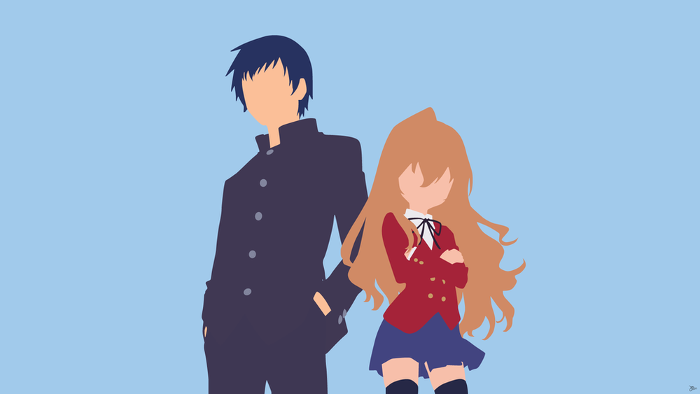406 Anime Minimalist/Vector Wallpapers — Lady Insanity