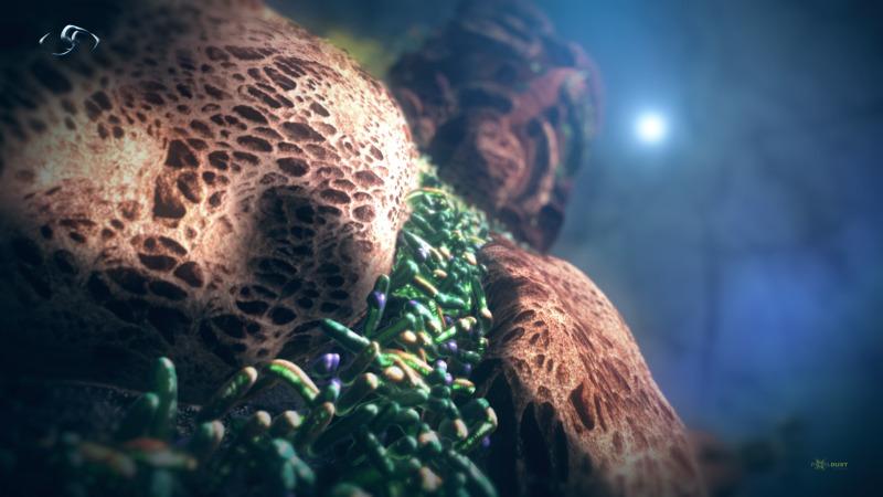 Vetruvian Man / Microbial Man