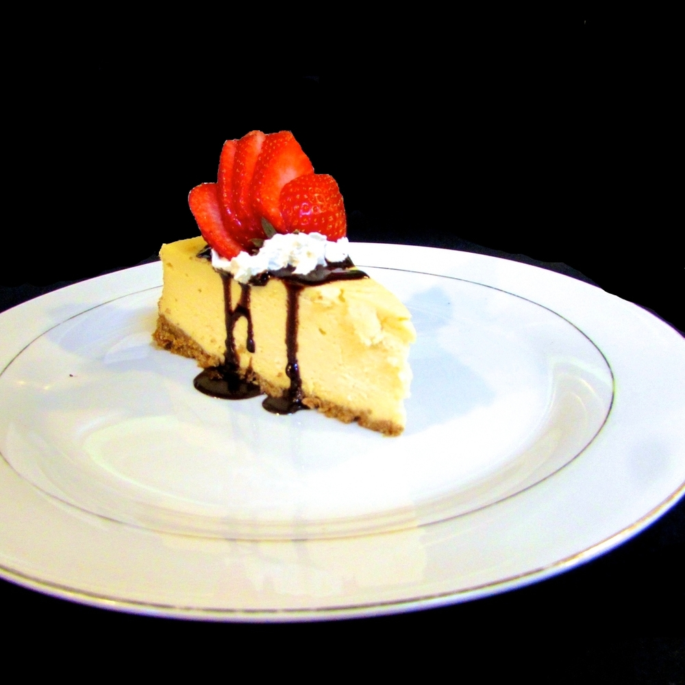 new york-style cheesecake.