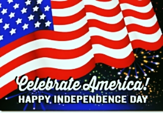 We will be closed Monday, July 4th. Have a safe and Happy Holiday!