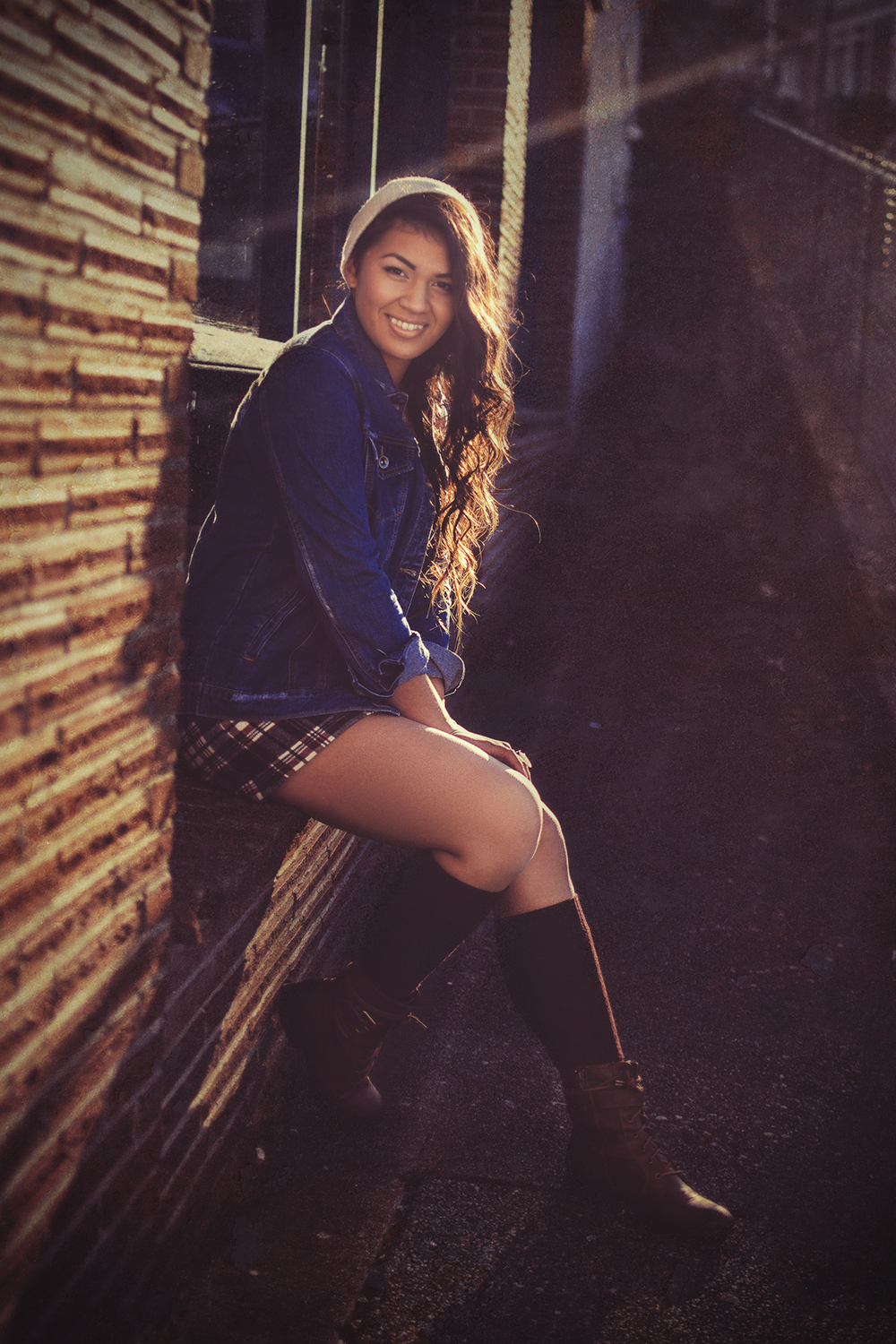 Gig Harbor Senior Portrait
