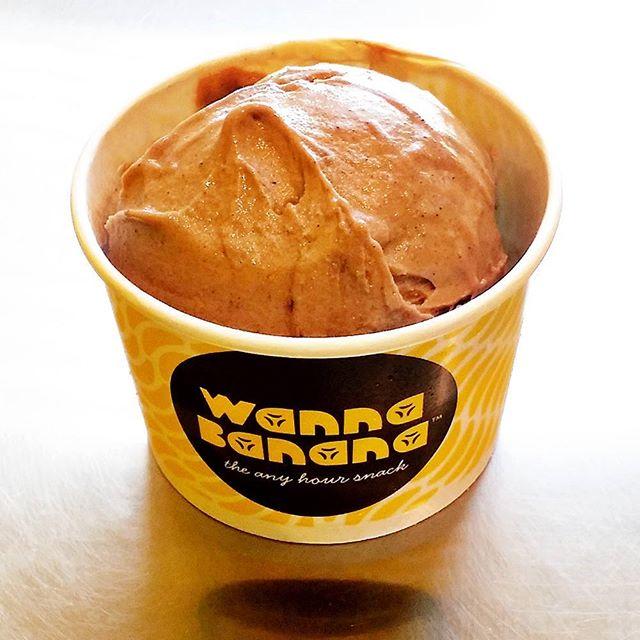 Sweet - frozen wannaBANANA therapy.  #WannaBananaSnack  #icecream #nicecream #icecreamlover #dubai #mydubai #dubailife #dubaiblogger #jeddah #jeddahcity #dessertlover #banana