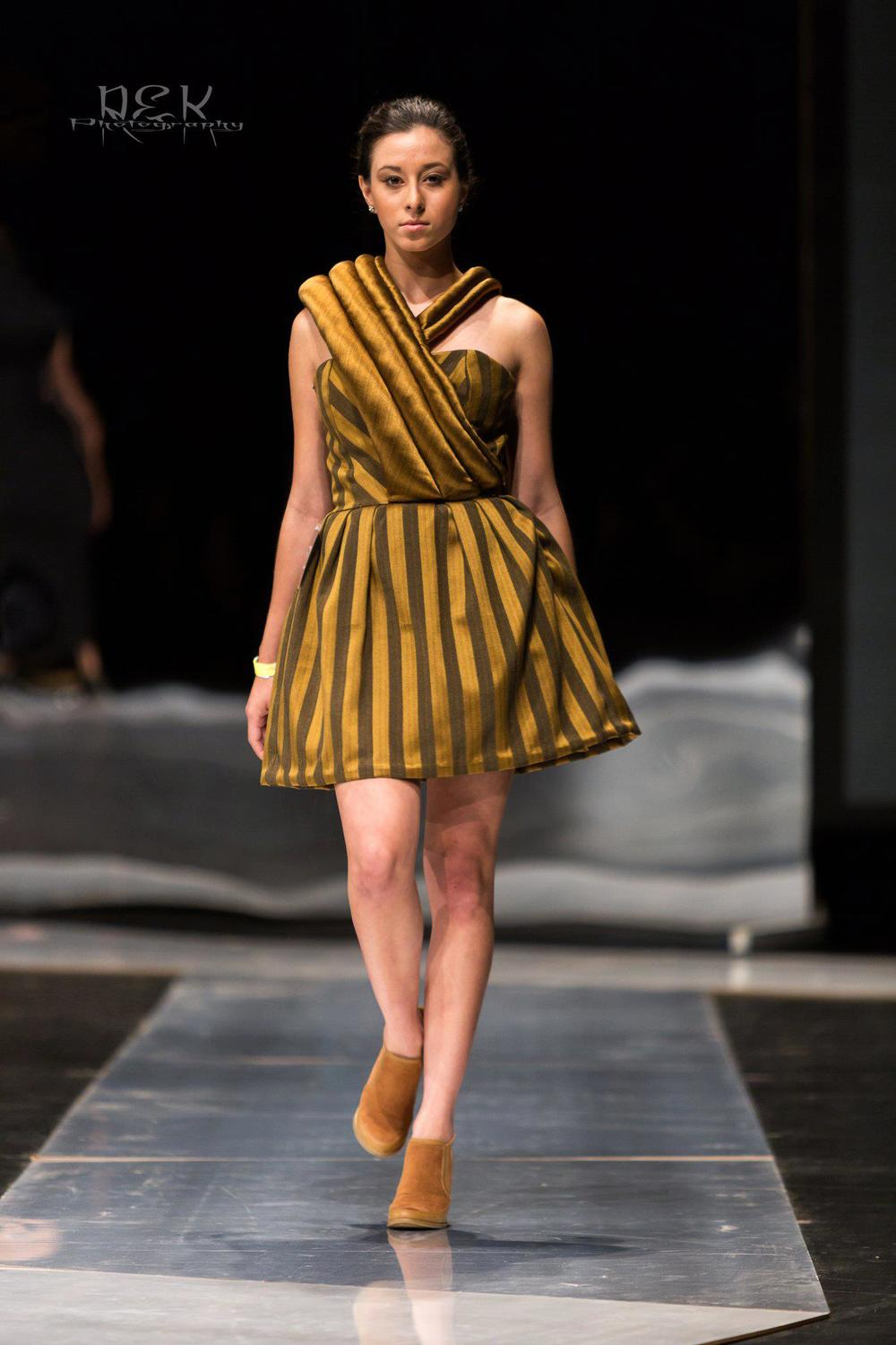 Resistance Fall 2014: Look 3 Draping