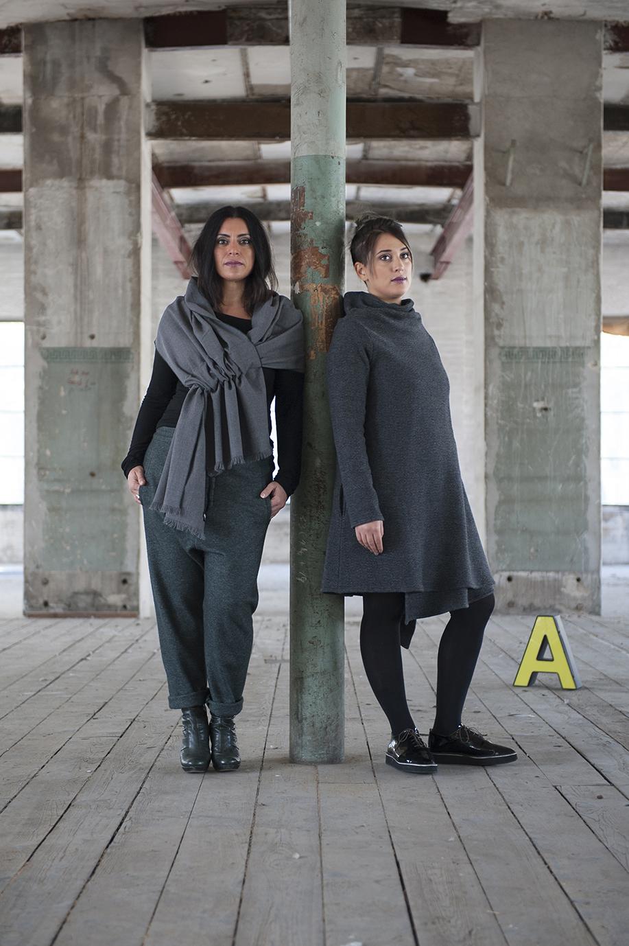 NANU, Herbstkollektion 2015, design by Sandra Strasser, Swiss made, Hair & Make-Up Sara Urso, Photo by Aissa Tripodi