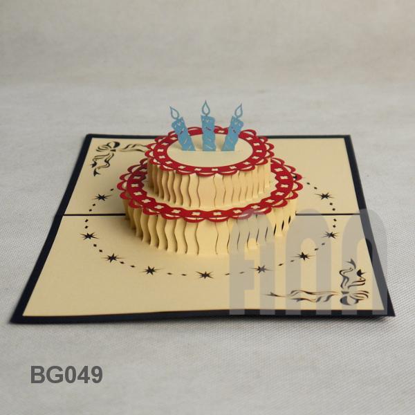 Bg049 Birthday Cake Ann Handicraft