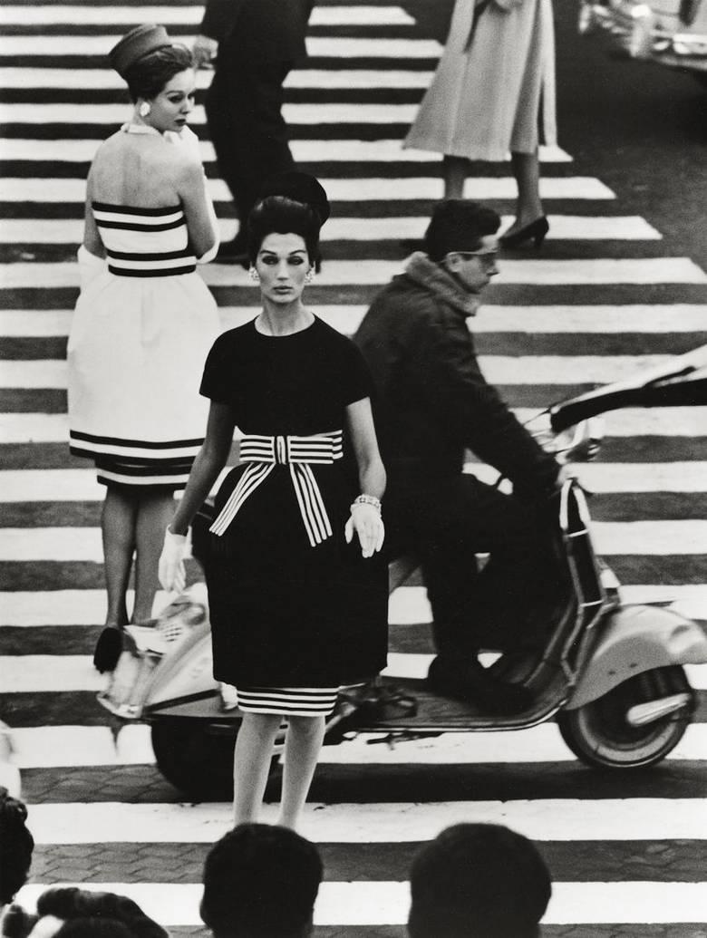 William Klein, Piazza di Spagna, Rome (1960)