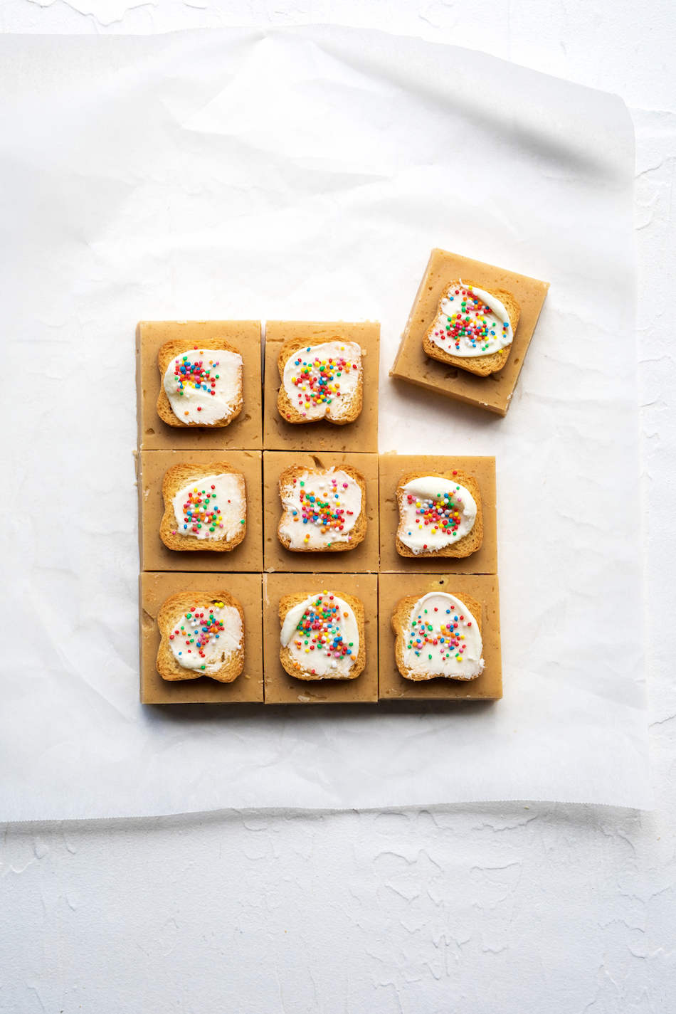 fairy bread fudge